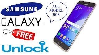 2018, All Samsung Galaxy Free Unlock,Sim Network Unlock pin,invalid sim card,Any Carrier or Country