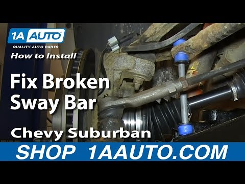 How to Replace Sway Bar Link 00-06 Chevy Suburban