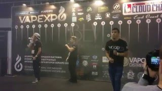 getlinkyoutube.com-Team VGOD in Moscow VAPE EXPO 2015