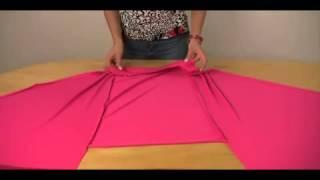 كيفية عمل صدرية ليكرا متعددة الاستخدامات فى دقائق