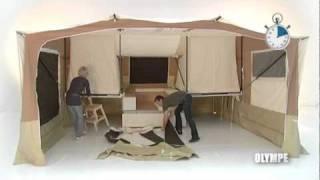 getlinkyoutube.com-Trigano Olympe - 2011 Trigano Trailer Tent