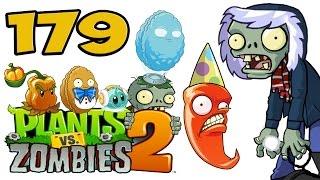 getlinkyoutube.com-ч.179 Plants vs. Zombies 2 - Frostbite Caves - Day 8