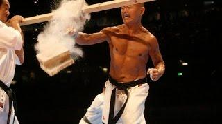 【新極真会】66歳空手家のド肝を抜く肉体と破壊力!  66 YEARS OLD  KARATE DEMONSTRATION SHINKYOKUSHINKAI KARATE