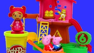 getlinkyoutube.com-TEAM UMIZOOMI Mighty Matching Treehouse Play-Doh Learn Numbers Shapes