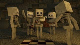 getlinkyoutube.com-Zombie to Skeleton w/ RELAX O VISION! Minecraft Animation