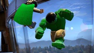 getlinkyoutube.com-LEGO Marvel's Avenger: Hulk vs Loki Battle/Fight