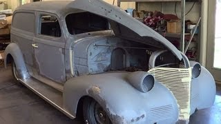 getlinkyoutube.com-1939 Sedan Delivery Project prt2