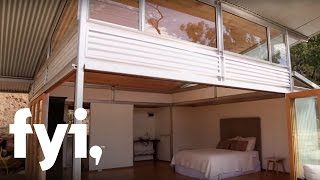 getlinkyoutube.com-Tiny House World: Off the Grid in Oz | FYI
