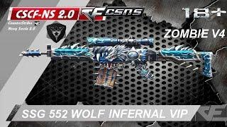 getlinkyoutube.com-๖ۣۜCF-NS 2.6.1 ☆ SSG 552 Wolf Infernal in ZOMBIE V7