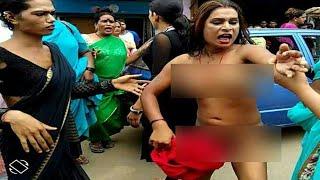भरे बाजार में किन्नर ने उतारे कपड़े ! बख्शीश ना मिलने पर 'नंगा नाच' HIGH