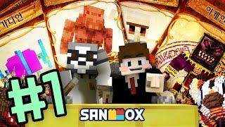 "getlinkyoutube.com-공포의 쇠망치 미노타우!! [마인크래프트: 몹배틀 ""몬왕 결정전"" 3주차 #1편] Minecraft - Mob Battle - [도티]"