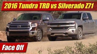 getlinkyoutube.com-Face Off: 2016 Toyota Tundra TRD vs Chevrolet Silverado Z71