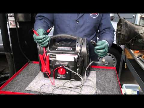Testing a Mercedes Automatic Transmission Kick Down Switch