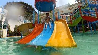 getlinkyoutube.com-Bermain Di Kolam Renang Anak Asik - Swimming Pool For Kids Waterboom