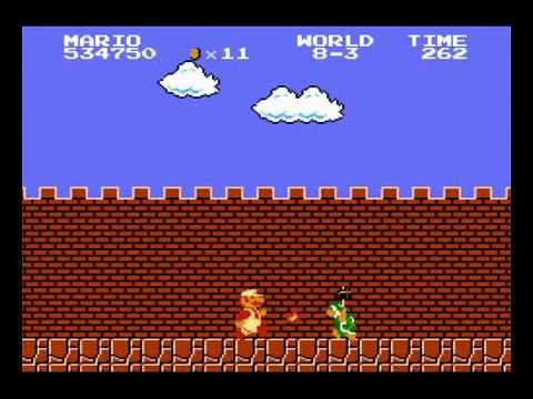 NES Longplay - Super Mario Bros. (all 1Ups)