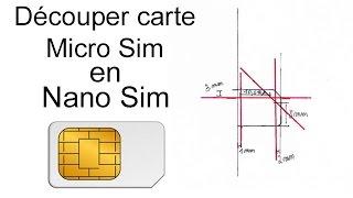 getlinkyoutube.com-✄ Découper carte Micro SIM en NANO Sim - tutoriel - iPhone 5 - 5S - 5C 6 - 6 Plus