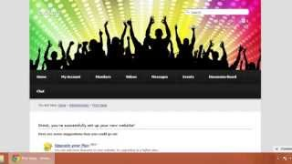 getlinkyoutube.com-طريقة صنع موقع تواصل اجتماعي مثل فيس بوك والربح منه