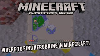 getlinkyoutube.com-HOW TO SPAWN IN HEROBRINE MINECRAFT 100% REAL PS3/XBOX 360 / PC EASY TUTORIAL REALLY WORKS 2015 HD