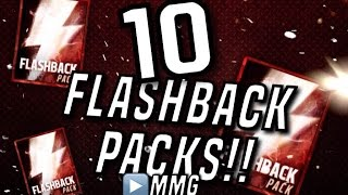 getlinkyoutube.com-HUGE Flashback Pack Opening! 10 Flashbacks! Madden Mobile