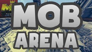 getlinkyoutube.com-PLAYERS VS MOBS!! // 15.10/16.0 MCPE Mineplex Minigame // Mob Arena