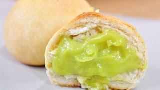 getlinkyoutube.com-ขนมปังสังขยา Thai Custard Bun