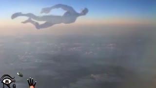 getlinkyoutube.com-Ufo, Ovni, Humanoide volando Junto a un Avión November 2015.