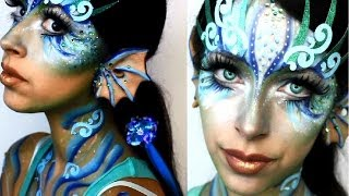 getlinkyoutube.com-Halloween Makeup: Mermaid