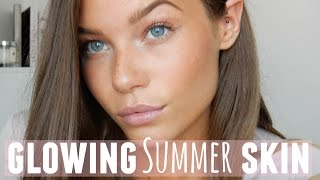 getlinkyoutube.com-HOW TO Get Glowing Summer Skin // Holly Kitney