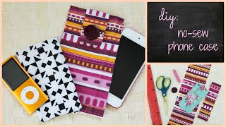 getlinkyoutube.com-DIY: No Sew Phone Case