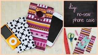 getlinkyoutube.com-DIY: No Sew Phone Case