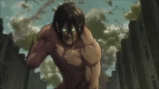 getlinkyoutube.com-Shingeki No Kyojin AMV - Eren Vs Annie (titans) HD