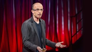Why humans run the world | Yuval Noah Harari width=