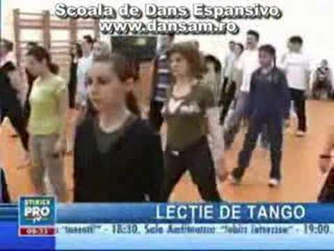 Cursuri de Dans - Scoala de Dans ESPANSIVO www.dansam.ro - tango