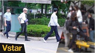 NCT 127의 포토타임은 오늘도 없습니다(FEAT. 무개념 팬들)그리고 온리원오브 (뮤직뱅크 출근길)