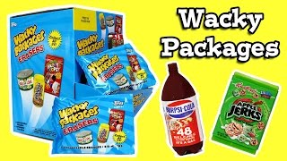 getlinkyoutube.com-Wacky Packages Erasers Blind Bags Opening