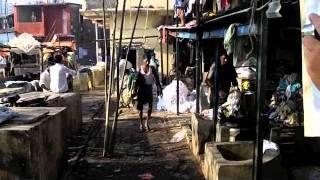 getlinkyoutube.com-Mumbai, Red Light District and Laundry Slum (bombay) Kamathipura Area