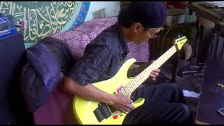 DANGDUT STYLE GUITAR SOLO BY BANG COX THE LEGEND