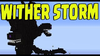 "getlinkyoutube.com-Minecraft PS3, PS4, Xbox, Wii U - ""WITHER STORM"" New Title Update Mob?!"