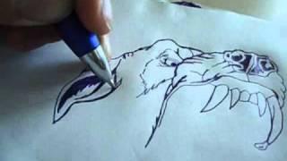 getlinkyoutube.com-desenhando cachorro speed