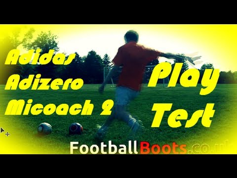 Adidas F50 Adizero Micoach 2 Test! - Footballboots.co.uk
