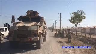 Suriye Milli Ordusu Fırat nehrinin doğusundaki topraklara girdi