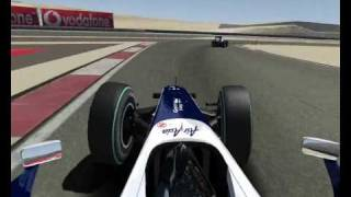 Bahrein F12010 On Board  Lap  1.34.628