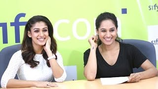 getlinkyoutube.com-Exclusive: Nayanthara's live video chat with her fans on Sify.com Part:7