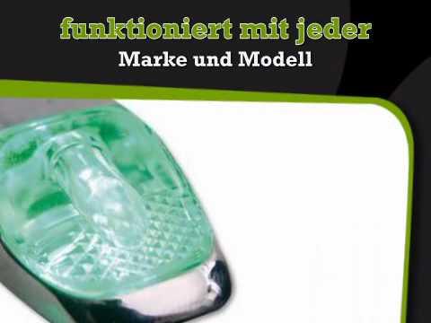 Spritzdusen beleuchtet, grun - lightec24.de