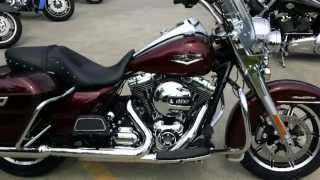 getlinkyoutube.com-2014 Road King Harley-Davidson FLHR Mysterious Red Sunglo