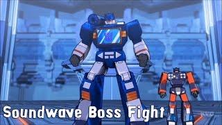 getlinkyoutube.com-Transformers: Devastation - Soundwave Boss Fight | Gameplay [HD]
