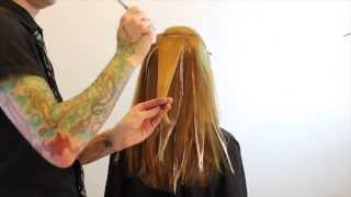 getlinkyoutube.com-Balayage - how to balayage hair - hair color technique featuring Brian Haire freesaloneducation.com