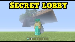 SECRET AREAS & Outside MiniGame Lobby (Minecraft Console)