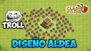 getlinkyoutube.com-Diseño ALDEA TROLL AYUNTAMIENTO 8 Clash of Clans (El mejor)