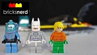 getlinkyoutube.com-LEGO Super Heroes Arctic Batman vs. Mr. Freeze: Aquaman on Ice 76000 Review